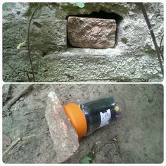 Fake rock cover hiding a #geocache in Germany (pinned from websta to Creative Geocache Containers - pinterest.com/islandbuttons/creative-geocache-containers/)