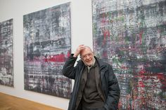 Gerhard Richter presents new hanging of his work in galleries at the Albertinum