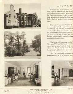 Old Long Island: When 'Ivycroft' Was For Sale
