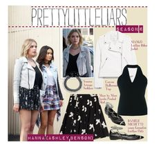 """TV Style: Pretty Little Liars"" by beebeely-look ❤ liked on Polyvore featuring Marc by Marc Jacobs, MANGO, Carven, Venessa Arizaga, Daniele Michetti, GetTheLook, pll and hannamarin"