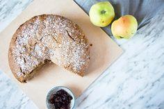 postres recetas delikatissen postres manzana postres fáciles bizcocho frutas Bizcocho de manzana y arándanos