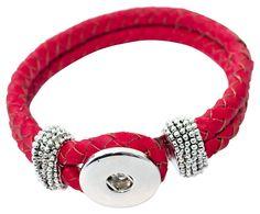 Unsere click & change Armbänder sind auch mit schönem geflochtenem Leder erhältlich! In vielen tollen Farben ;)