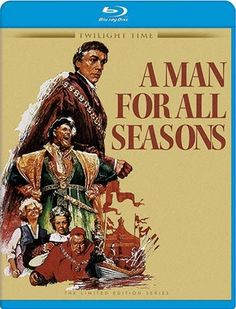 A Man for All Seasons - Blu-Ray (Twilight Time Ltd. Region Free) Release Date: Available Now (Screen Archives Entertainment U.S.)