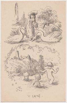Vintage World Maps, Fantasy, Painter, Postcard, Art, Humanoid Sketch, Vintage