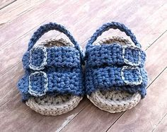 PATRON Sandalias de crochet estilo Birkenstock por ShowroomCrochet