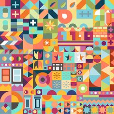 Matt Luckhurst: Pattern for Airbnb Hello LA. www.airbnbhellola.com