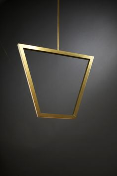 Unix by Christopher Boots. Asterix: A Family of Geometric Brass Chandeliers with inlaid LED.