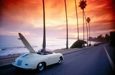 Porsche Speedster, Montecito, California, USA