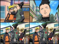 shikatema. Oh I don't know. You spend every waking moment together. Naruto ships it!