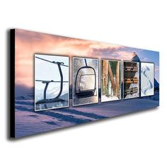 Snowboard Name Art - Personalized from $49.95