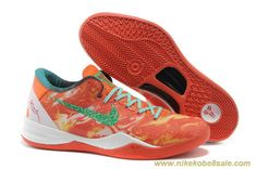 cheaper 78250 2fd26 Buy Latest Listing 587553 800 Nike Kobe 8 System All-Star Bright Citrus  Sport Turquoise-Total Crimson Shoes Shop