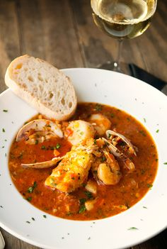 Cioppino - Italian Fish Soup or Sea Food Soup is maybe a better description