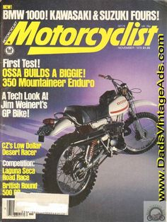 1976 Ossa 350 Enduro – first test on the newest & biggest Ossa
