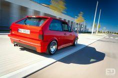 VW Polo rig shot