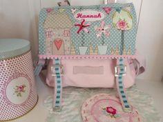 """Kindergartentaschen - Kindergartentasche """"Hannah"""" - ein Designerstück von julis-fairy-tale bei DaWanda"""