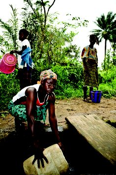 Women spend 200 million hours a day collecting water. That's equivalent to building 28 Empire State Buildings every day