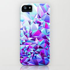 PURPLE+TEAL iPhone & iPod Case by House of Jennifer - $35.00