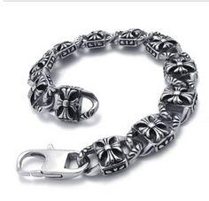ece65efbfc6f Bigbang GD G-dragon Chrome Hearts bracelet version A Cross Heart