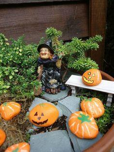 halloween miniature garden - Miniature Halloween Decorations