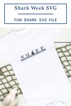 Celebrate Shark Week or your love of Sharks with this fun Shark Text SVG file from Everyday Party Magazine #SharkWeek #Shark #SVGFilesForCricut