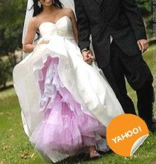 Colorful Petticoat.. pink or orange or yellow