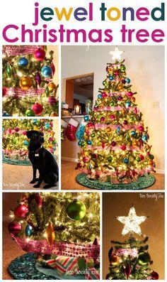 Jewel Toned Christmas Tree