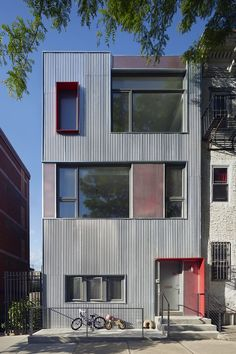 South Slope Townhouse | Etelamaki Architecture | Archinect