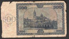 1936 billete 500 pesetas