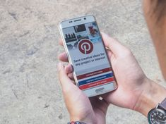 CHIANG MAI,THAILAND - APR 26,2016 : Man holding a samsung galaxy s6 edge with social Internet service Pinterest on the screen. Pinterest is pinboard that allows people to pin their interesting things. — Stock Image Most Popular Social Media, Chiang Mai Thailand, Samsung Galaxy S6, Hold On, Internet, People, Image, Naruto Sad, People Illustration