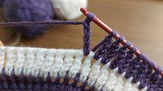 Crochet Baby Blanket Beginner, Tunisian Crochet Stitches, Quick Crochet, Crochet Stitches Patterns, Crochet Designs, Knit Crochet, Crochet Instructions, Crochet Videos, Crochet Slippers