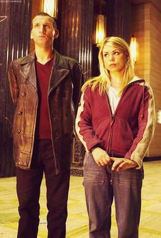 When she travelled with the Ninth Doctor, Rose Tyler dressed more like the teenager she was. And I finally noticed that!