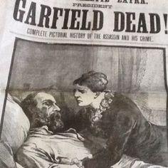 president garfield memorial day