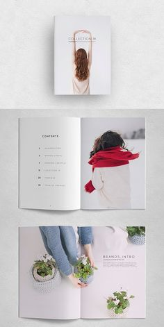 #portfolio #lookbook #brochure #template #indesign