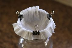 Coffee Filter Uses and Hacks | DIY Ideas by DIY Ready at http://diyready.com/uses-for-coffee-filters-diy-projects-and-ideas