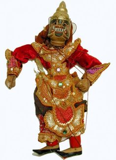 Burmese Puppet.