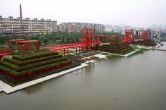 Tianjin (China) Bridged Gardens.
