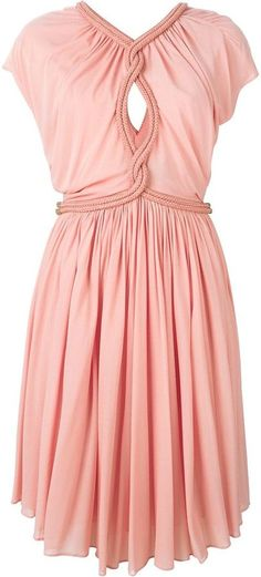 Jay Ahr rope detail dress - $2,092.09