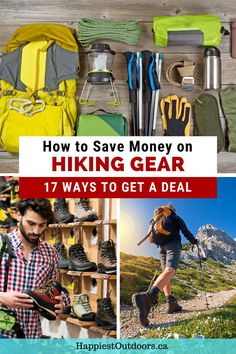 Hiking gear can be expensive. Find out how to get a deal on hiking gear. Save money on hiking gear. Find hiking gear on a budget. Use these tips to find cheap hiking gear. Backpacking Tips, Hiking Tips, Hiking Gear, Hiking Outfits, Thru Hiking, Continental Divide, Get Outdoors, Outdoor Woman, Ways To Save Money