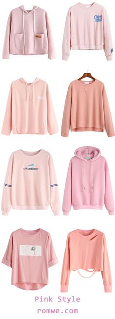 Cute Pink Style - rowme.com