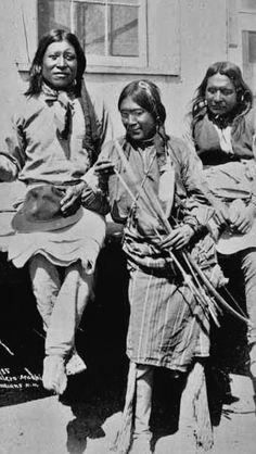 Mescalero Apache Men - 1888