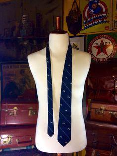 A personal favorite from my Etsy shop https://www.etsy.com/listing/248068584/vintage-ll-bean-blue-100-silk-landlocked