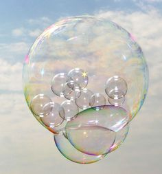 Bubbles, Bubbles everywhere-