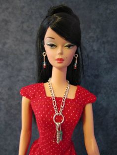 Handmade Barbie doll jewelry  silkstone and by TheDesigningRose, $14.00