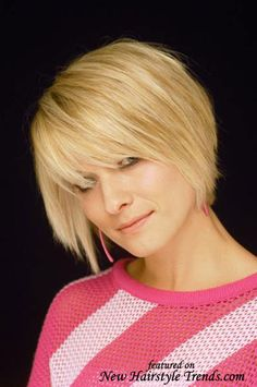 I wish I could cut my hair like this. :( but its too thick