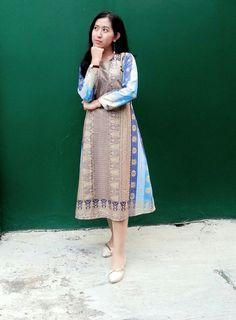 Etnic Songket Dress by.DEENEST