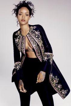 Rihanna for ELLE (2014)