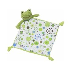 Maison Chic Boy Blankie, Frog by Maison Chic. $16.24. 12 inch Boy Frog Blankie that is a variety of fabrics and textures with knotted ends. Made of cotton and polyester. Makes this a great blankie for little boys and is great for small hands to hold.
