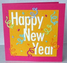 Happy New Year handmade card