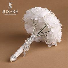 Jusere 2015 декоративные венки искусственный свадебный ну вечеринку фестиваль главная Decro решений Floweral жемчуг кристалл букет невесты купить на AliExpress