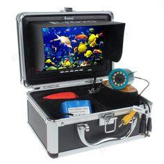 "Eyoyo Original 30m Professional Fish Finder Underwater Fishing Video Camera 7"" Color HD Monitor 1000TVL HD CAM"